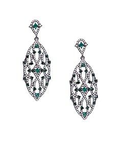 Lauren Ralph Lauren® Estate Green Chandelier Clip-On Earrings