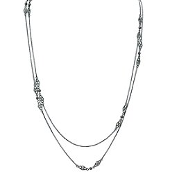 Lauren Ralph Lauren® Estate Hematite Illusion Necklace