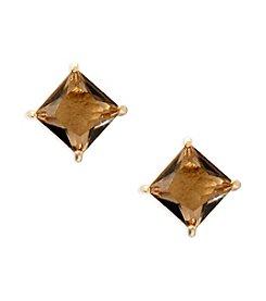 Lauren Ralph Lauren® Estate Topaz Stone Stud Pierced Earrings