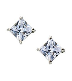 Lauren Ralph Lauren® Estate Clear Stone Stud Pierced Earrings