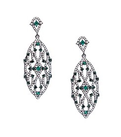 Lauren Ralph Lauren® Estate Green Chandelier Pierced Earrings