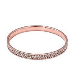 Lauren Ralph Lauren® Rose Palais Pave Bangle Bracelet