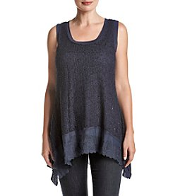 Cupio® Sleeveless Scoop Neck Top