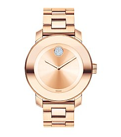Movado Bold® Women's Bold Rose Goldtone Stainless Steel Watch