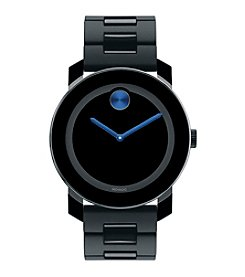 Movado Bold® Men's Bold Black Stainless Steel Watch