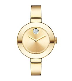 Movado Bold® Women's Bold Goldtone Bangle Watch