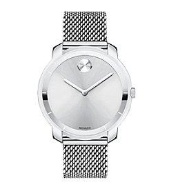 Movado Bold® Women's Bold Silvertone Mesh Bracelet Watch