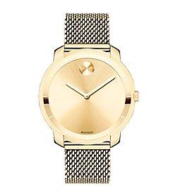 Movado Bold® Women's Bold Goldtone Mesh Bracelet Watch