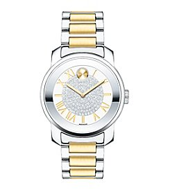 Movado Bold® Women's Bold Luxe Crystal Dial Two Tone Watch