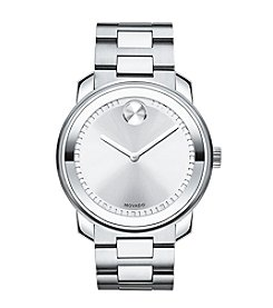 Movado Bold® Men's Silvertone Dial Watch