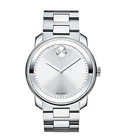 Movado Bold® Men's Silvertone Dial Watch