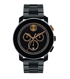 Movado® Bold Men's Bold Black Chronograph Watch