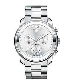 Movado Bold® Men's Bold Silvertone Analog Watch