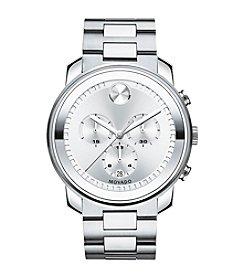 Movado Bold® Men's Bold Silvertone Analog Watch