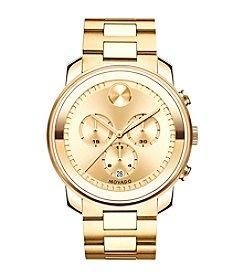 Movado Bold® Men's Bold Goldtone Chronograph Watch