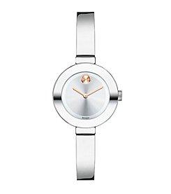 Movado Bold® Women's Bold Silvertone Bangle Watch