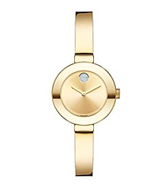 Movado Bold® Women's Bold Goldtone Bangle Watch