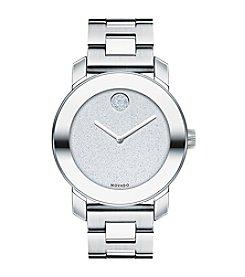 Movado Bold® Women's Bold Giltter Dial Silvertone Watch
