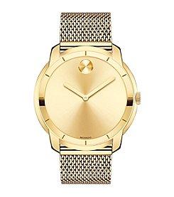 Movado Bold® Men's Goldtone Mesh Bracelet Watch