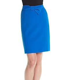 Anne Klein® Bow Pencil Skirt