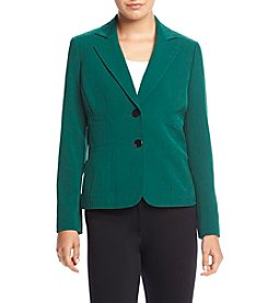 Kasper® Stretch Crepe Jacket