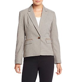 Nine West® Houndstooth Jacket