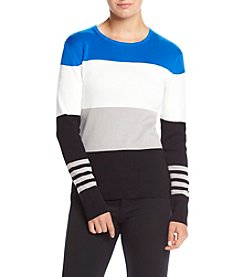 Anne Klein® Multi Stripe Sweater