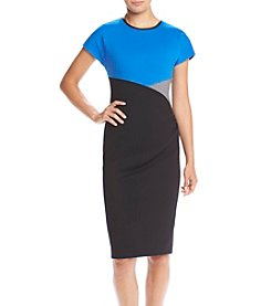 Anne Klein® Side Drape Dress