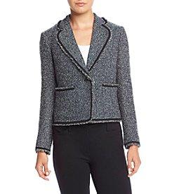 Anne Klein® Boucle Tweed Jacket