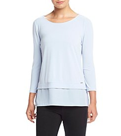 Ivanka Trump® Jersey Layer Top