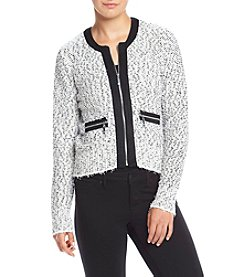 Ivanka Trump® Zipper Sweater