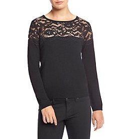 Ivanka Trump® Lace Sweater