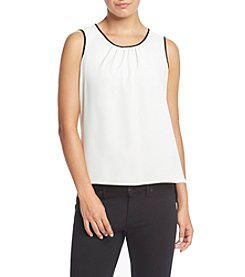 Anne Klein® Pleated Blouse