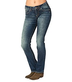 Silver Jeans Co. Medium Wash Suki Mid Rise Slim Bootcut Jeans
