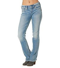 Silver Jeans Co. Light Wash Suki Mid Rise Slim Bootcut Jeans
