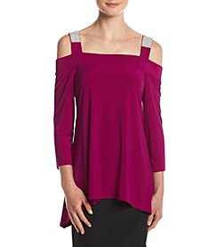 MSK® Cold Shoulder Top