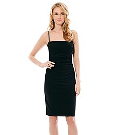 Laundry by Shelli Segal® Spaghetti Strap Short Dress With Open Back
