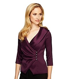 Alex Evenings® Portrait Collar Blouse