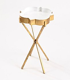 InnerSpace® Quatrefoil Tray Side Table