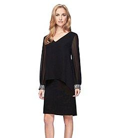 Alex Evenings® Short V-neck Dress