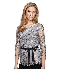 Alex Evenings® Illusion Blouse