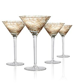 Artland® Misty Set of 4 Martini Glasses