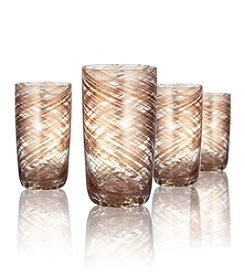 Artland® Misty Set of 4 Highball Glasses