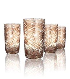 Artland® Misty Set of 4 Highball Glasses