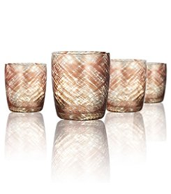 Artland® Misty Set of 4 Double Old Fashioned Glasses