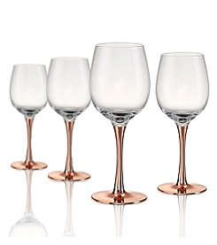Artland® Coppertino Set of 4 Wine Glasses