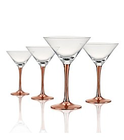 Artland® Coppertino Set of 4 Martini Glasses