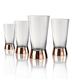 Artland® Coppertino Set of 4 Highball Glasses