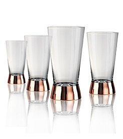 Artland® Coppertino Set of 4 Highball Glasses