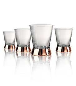 Artland® Coppertino Set of 4 Double Old Fashioned Glasses